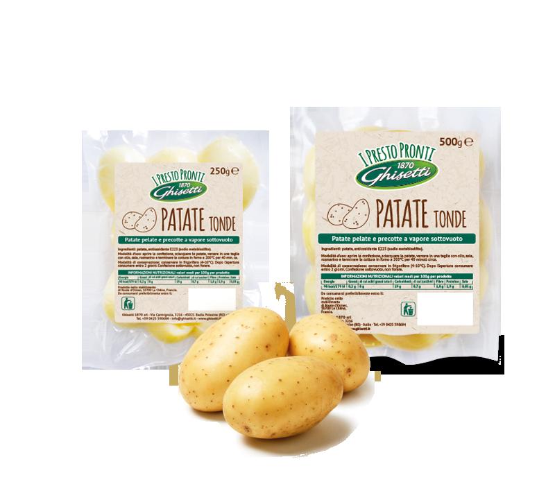 Le Patate tonde  /